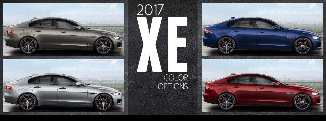 Jaguar XE Exterior Paint Color Options