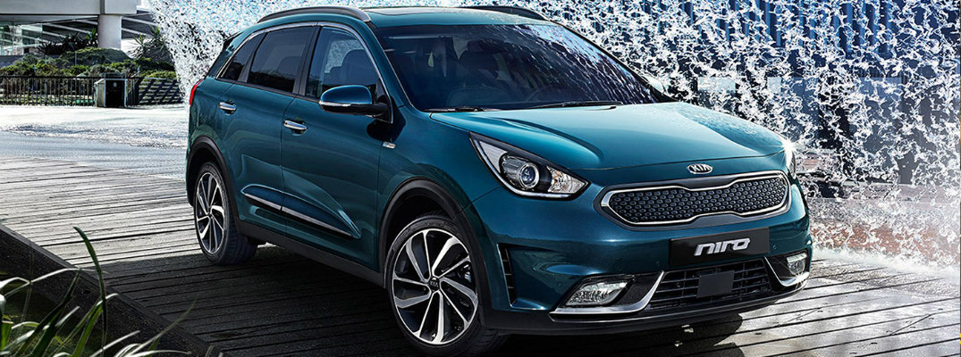 2017 Kia Niro available exterior color options