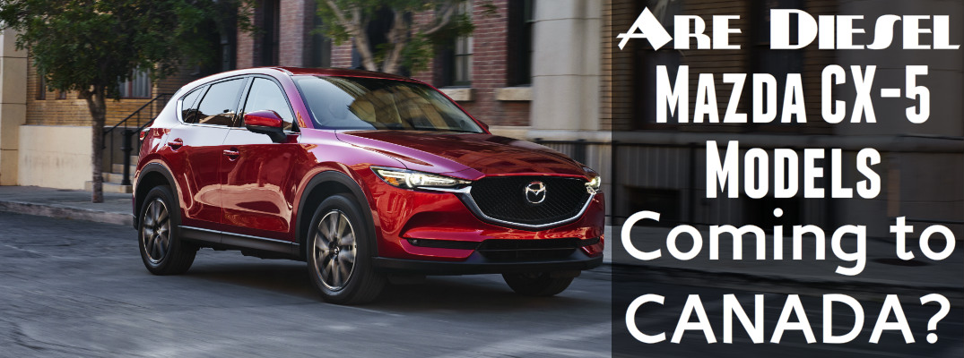 Diesel Mazda CX-5 availability