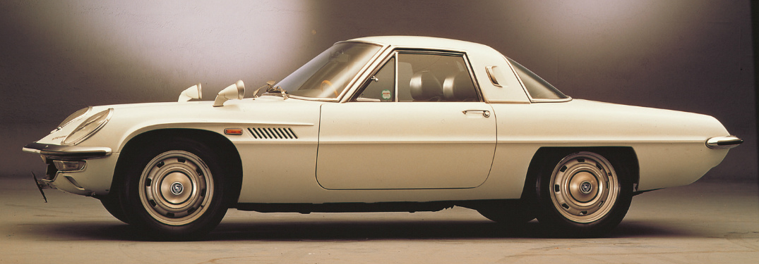 What year did Mazda produce its first car?