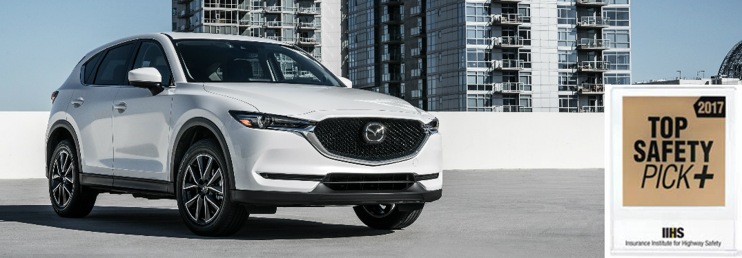 All 2017 Mazda Models Tested Get IIHS Top Safety Pick+ Rating