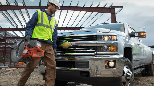 2016 Chevrolet Silverado 2500HD Diesel specifications
