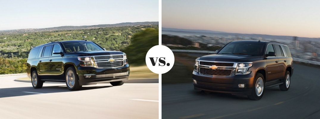 2017 chevrolet suburban vs 2017 chevrolet tahoe. Black Bedroom Furniture Sets. Home Design Ideas
