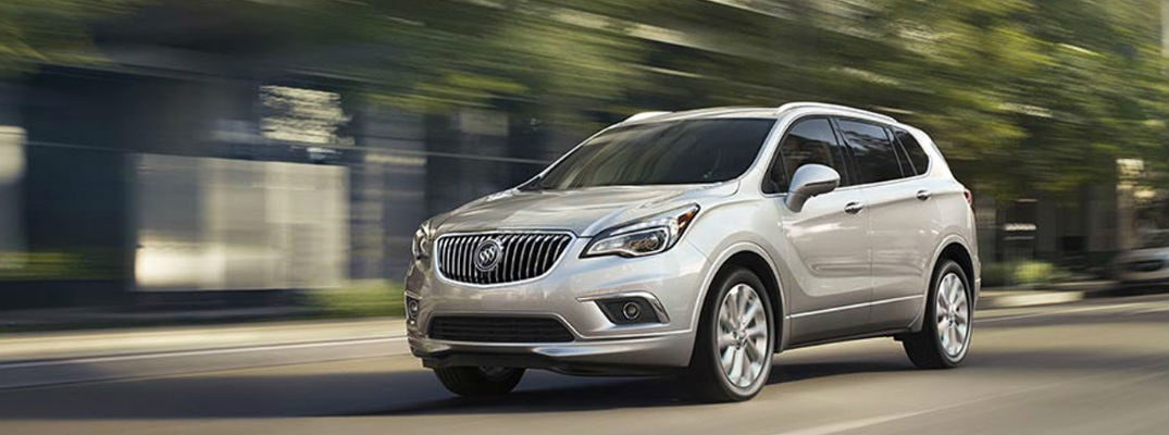 Top safety rating offered in 2017 Buick Envision