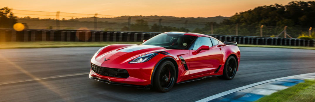 Features and options list of the 2017 Chevy Corvette