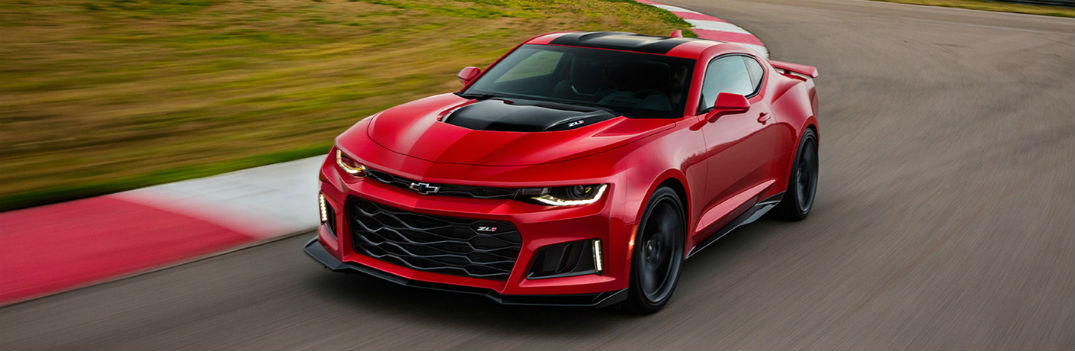 Technology and comfort features available in 2017 Chevy Camaro