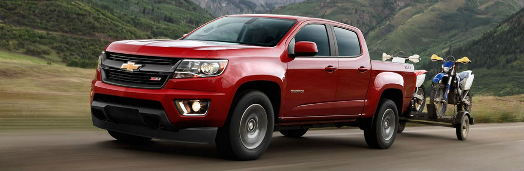 Multiple engine options offered in 2017 Chevy Colorado