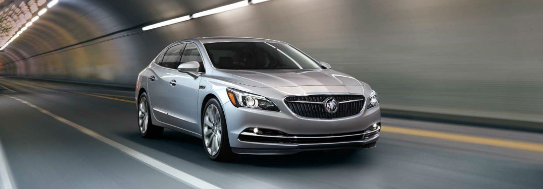 2017 Buick LaCrosse five-star Overall Vehicle Score for Safety