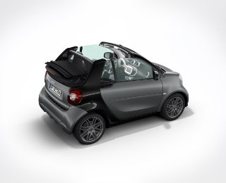 smart fortwo panoramic sunroof