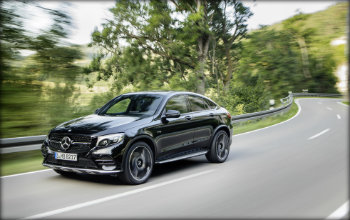 2017 GLC43 Coupe black