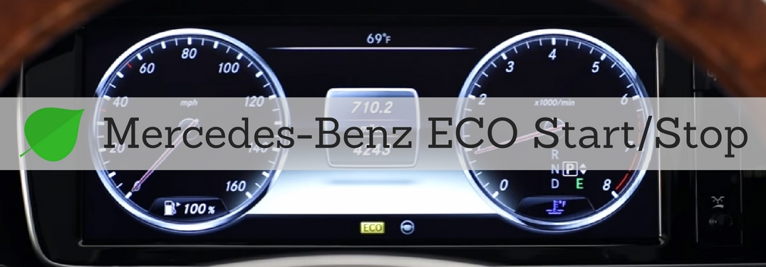 Mercedes-Benz ECO start stop system