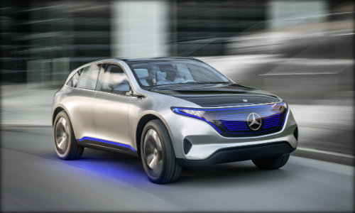 New Mercedes-Benz electric vehicle
