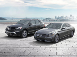 Mercedes-Benz Certified Pre-owned sale models