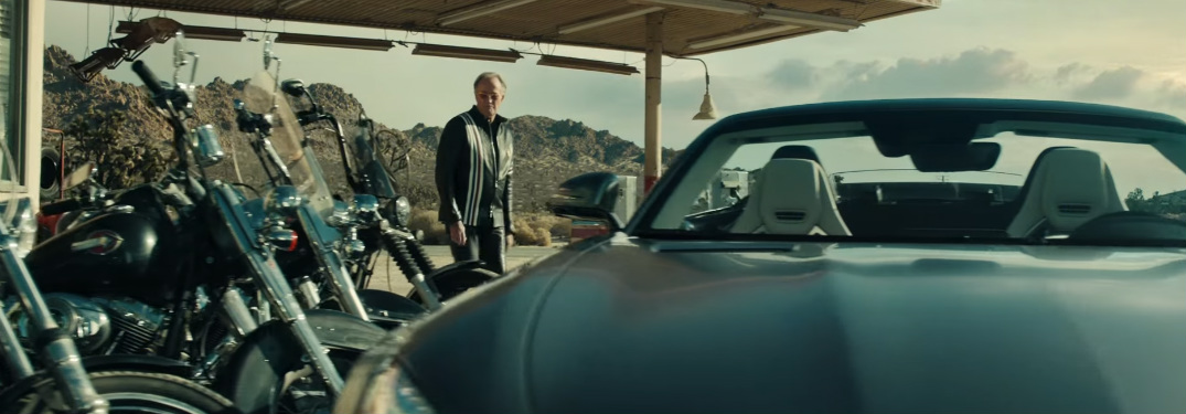 Which Actor is in the Mercedes-Benz Super Bowl Commercial?