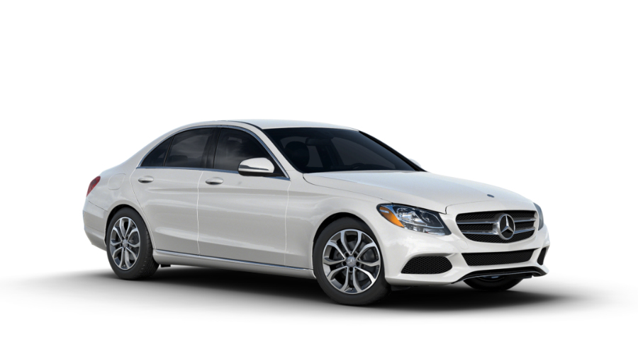 2017 Mercedes-Benz C-Class in designo Diamond White Metallic