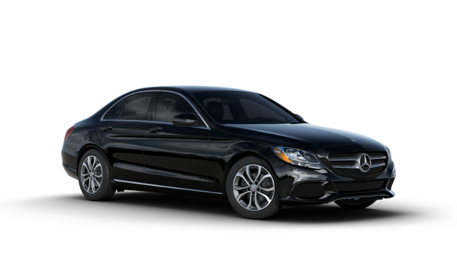 2017 Mercedes-Benz C-Class in Black