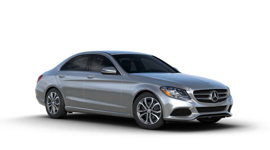 2017 Mercedes-Benz C-Class in Iridium Silver Metallic