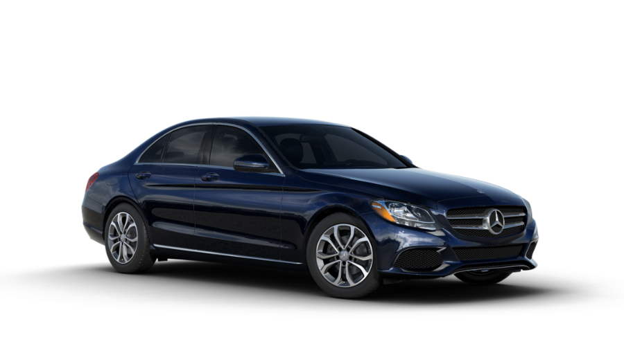 2017 Mercedes-Benz C-Class in Lunar Blue Metallic