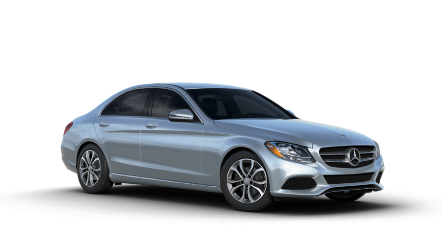 2017 Mercedes-Benz C-Class in Diamond Silver Metallic