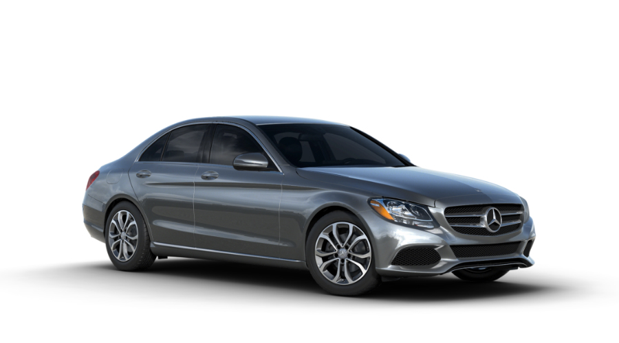 2017 Mercedes-Benz C-Class in Selenite Grey Metallic