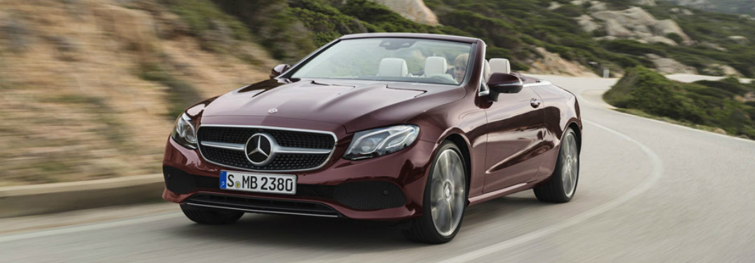 New 2018 E-Class Cabriolet at the New York International Auto Show