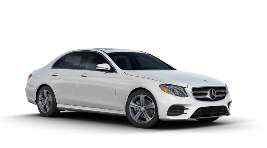 2017 Mercedes-Benz E-Class in designo Diamond White Metallic