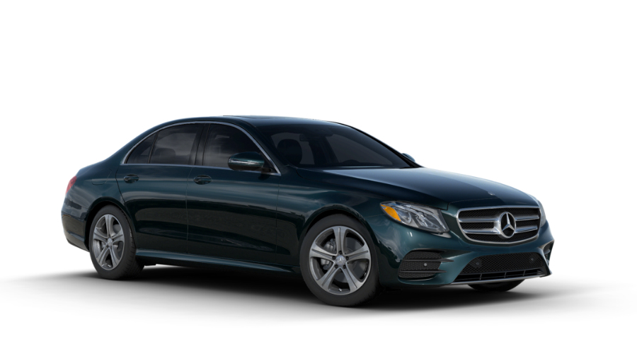2017 Mercedes-Benz E-Class in Piedmont Green Metallic