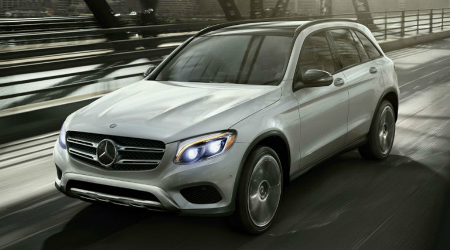 silver 2016 Mercedes-Benz GLC