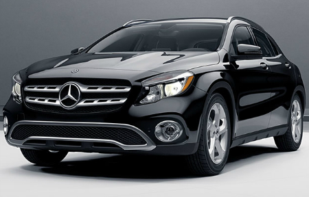 new black 2018 Mercedes-Benz GLA SUV