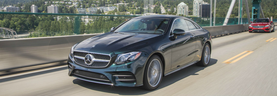 What New Technology and Safety Features Come with the 2018 Mercedes-Benz E-Class Coupe Lineup?