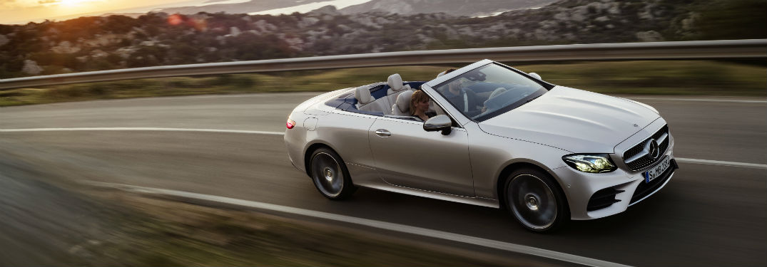 What's Under the Hood of the New Mercedes-Benz E-Class Cabriolet?