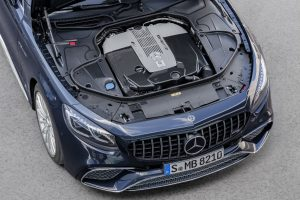 2018 Mercedes-AMG S 65 Cabriolet engine_o