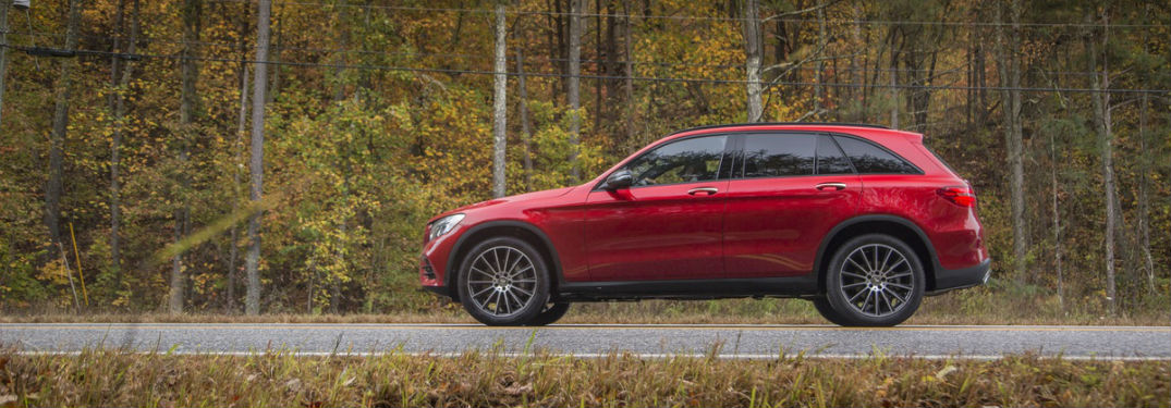 What safety features are available on the 2018 Mercedes-Benz GLC?