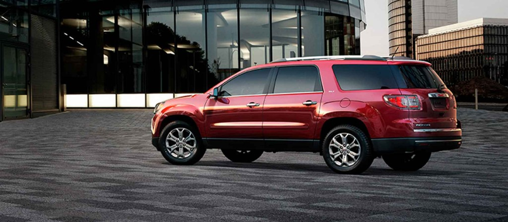2018 Gmc Acadia Vs Chevrolet Traverse