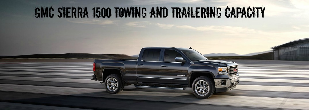 towing capacity 2015 gmc sierra with max towing package. Black Bedroom Furniture Sets. Home Design Ideas