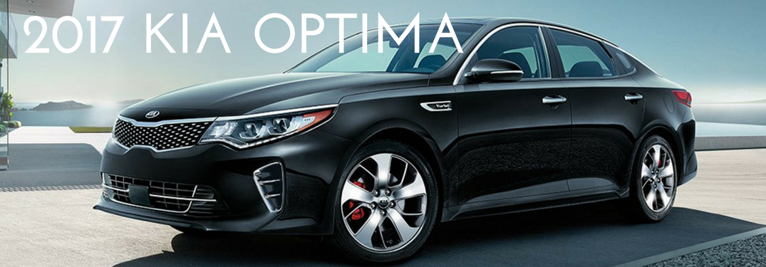 2017 Kia Optima in black