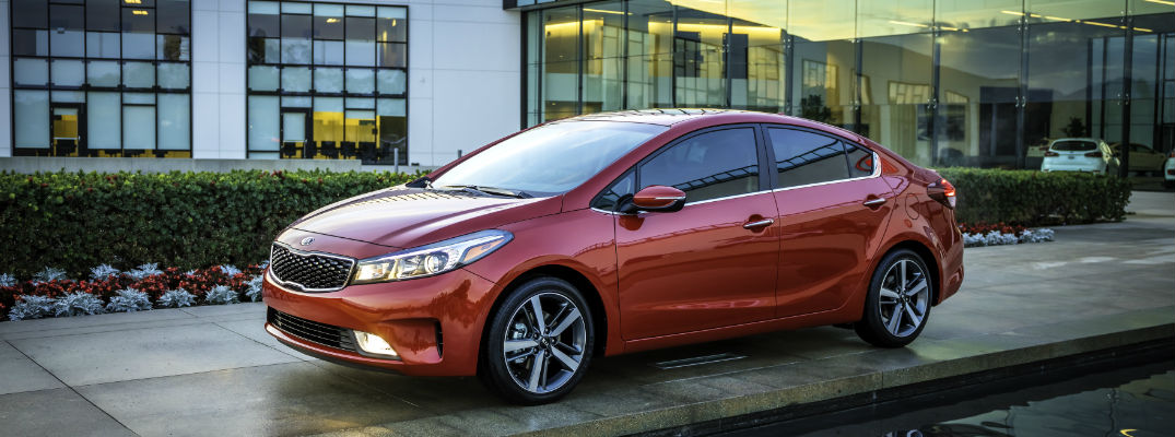 Red Exterior Side View - 2017 Kia Forte Earned the IIHS Top Safety Pick Plus