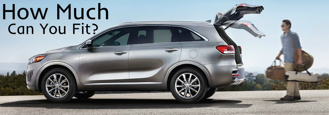 How Much Cargo Space Does the 2018 Kia Sorento Have?