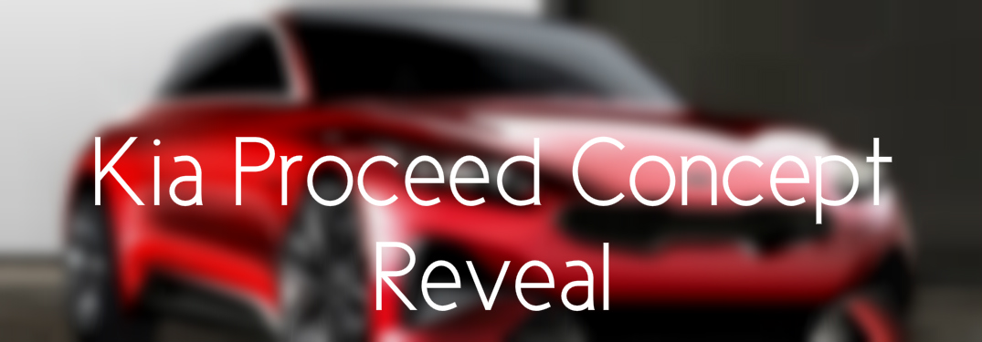 What was Revealed of the new Kia Proceed Concept Car?