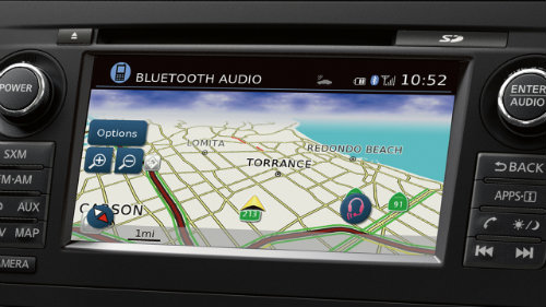 2017 Nissan Altima Bluetooth connectivity