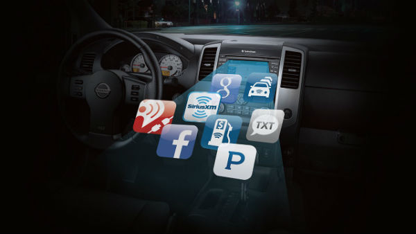 Mobile apps for the 2017 Nissan Frontier