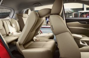 2017 Nissan Rogue interior seating and cargo space