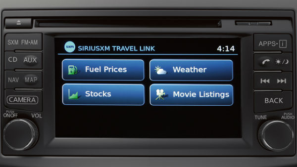 NissanConnect with Navigation and Mobile Apps