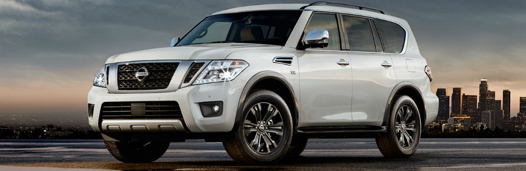 2017 Nissan Armada Passenger and Cargo Space