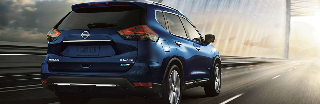 2017 Nissan Rogue Safety Features