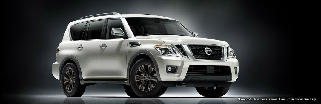 2017 Nissan Armada Safety Features