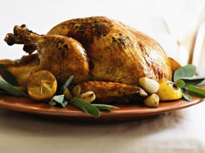 large turkey - how to cook turkey on car engine