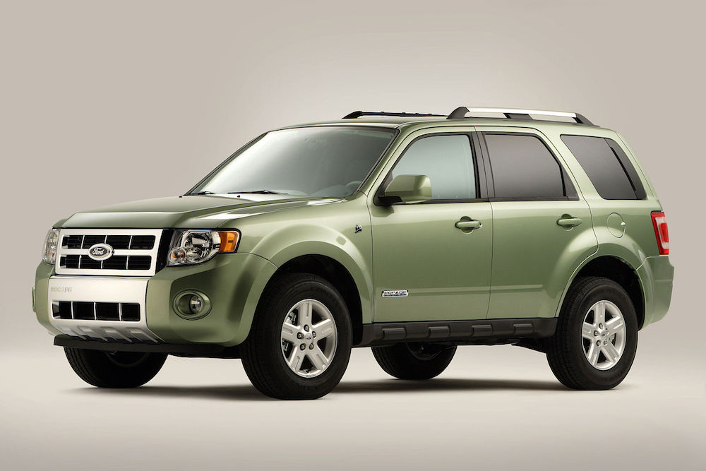 what car did Obama drive - Ford Escape Hybrid