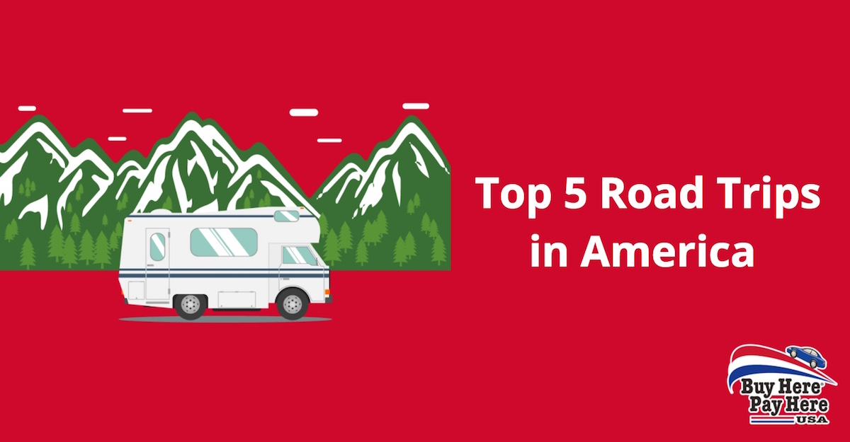 top 5 road trips in america plan a usa road trip. Black Bedroom Furniture Sets. Home Design Ideas