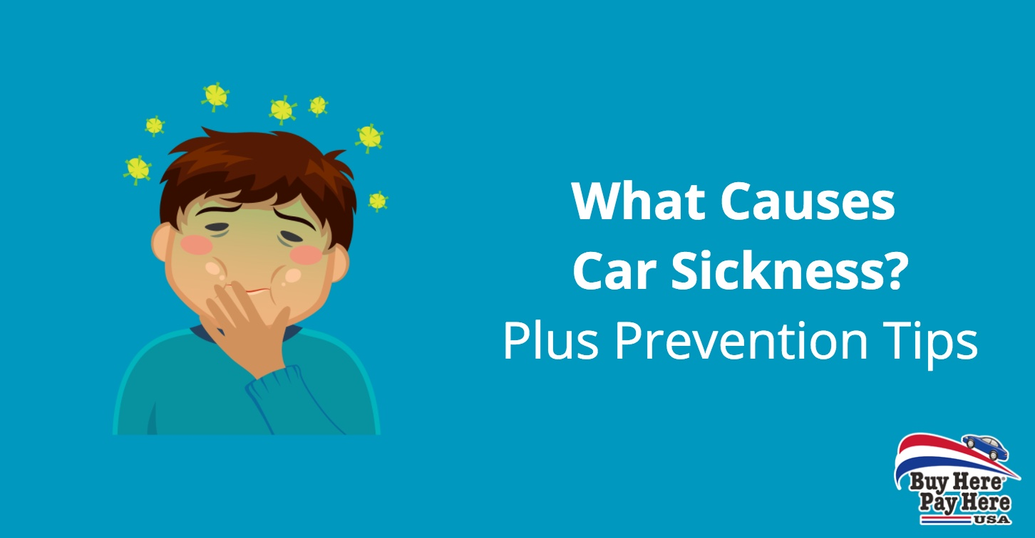 what is car sickness motion sickness - prevention tips